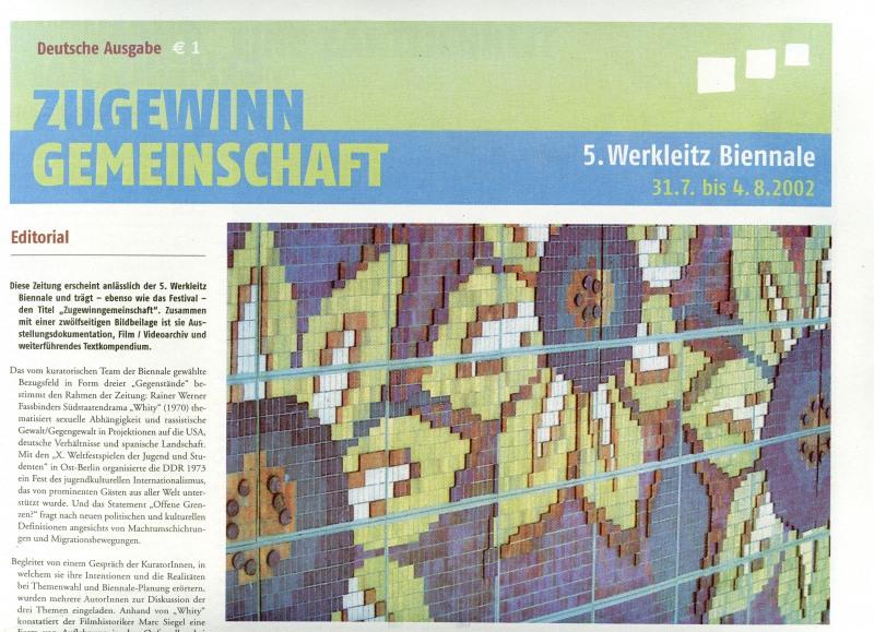 5 werkleitz biennale 2002 zugewinngemeinschaft werkleitz. Black Bedroom Furniture Sets. Home Design Ideas